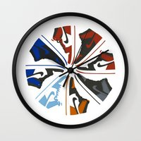 Color Wheel No.001 Wall Clock
