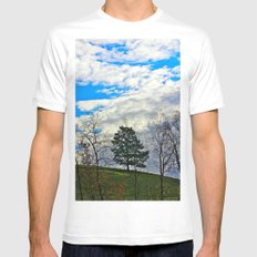 Morning Light  Mens Fitted Tee SMALL White