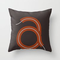 A for Awesome! Throw Pillow