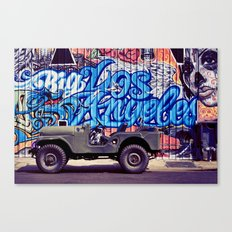 Big Los Angeles Canvas Print