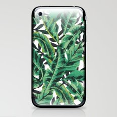 Tropical Glam Banana Lea… iPhone & iPod Skin