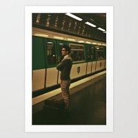 PARIS VII - YOUNG MAN Art Print