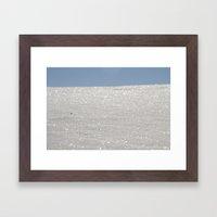 White Sands New Mexico  Framed Art Print