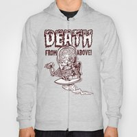 Death From Above (Red) Hoody