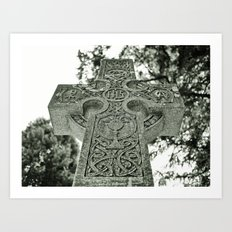Celtic nation Art Print