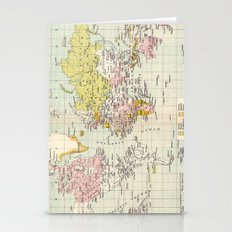 Colonial Possessions of the European Powers at the present time Stationery Cards
