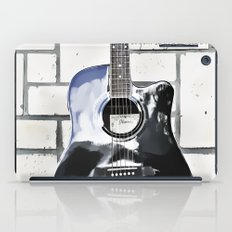 Be Your Song and Rock On in White II iPad Case