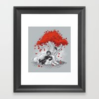 Dreaming Of A Quiet Wint… Framed Art Print