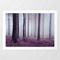 Surreal Mist Art Print