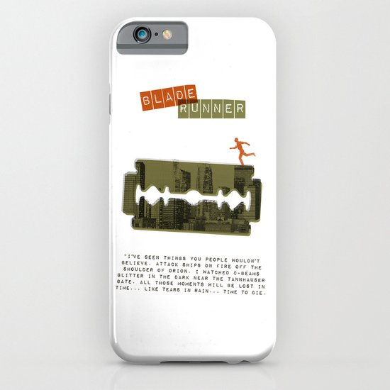 Blade Runner iPhone & iPod Case