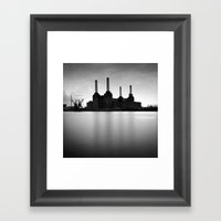 Battersea Power Station Framed Art Print