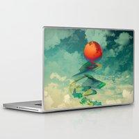 sun Laptop & iPad Skins featuring Reach the Sun! by Klara Acel