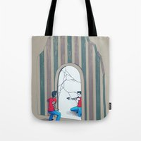 Self Conflict Tote Bag