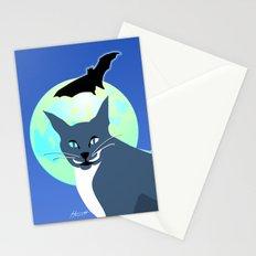 Jack Cat Goes Gothic Stationery Cards