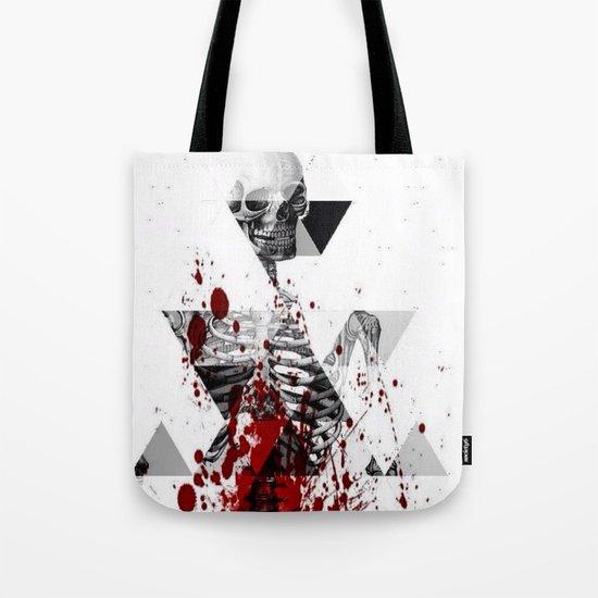 tri bomb skeleton                              Tote Bag