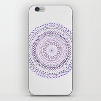 Mandala Smile C iPhone & iPod Skin
