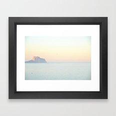calma Framed Art Print