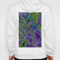 Colorful Abstract Stained Glass G301 Hoody