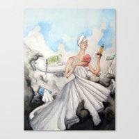 The Alluring Annoyance O… Canvas Print