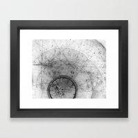 Particle Tracks Framed Art Print