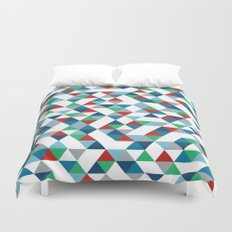 Triangles #3 Duvet Cover