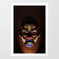 SINISTER Art Print