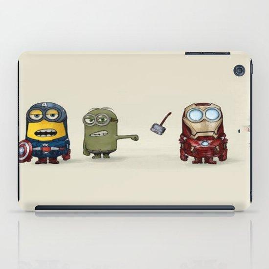Minion Avengers iPad Case