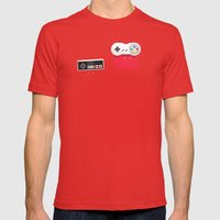Let's Be Super Together Mens Fitted Tee Red SMALL