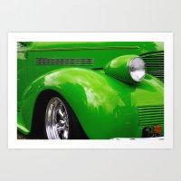 Green Machine Art Print