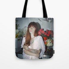 Hattie Floral Tote Bag
