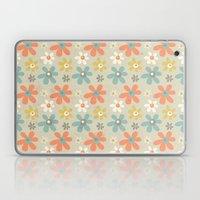 flowers pattern Laptop & iPad Skin