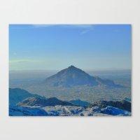 A View Canvas Print