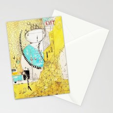 Making downtown  Stationery Cards