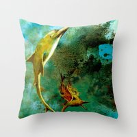 Delphin Throw Pillow