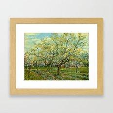 Vincent Van Gogh - The W… Framed Art Print
