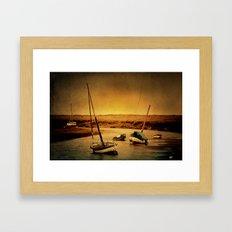 Blakeney Boats Framed Art Print