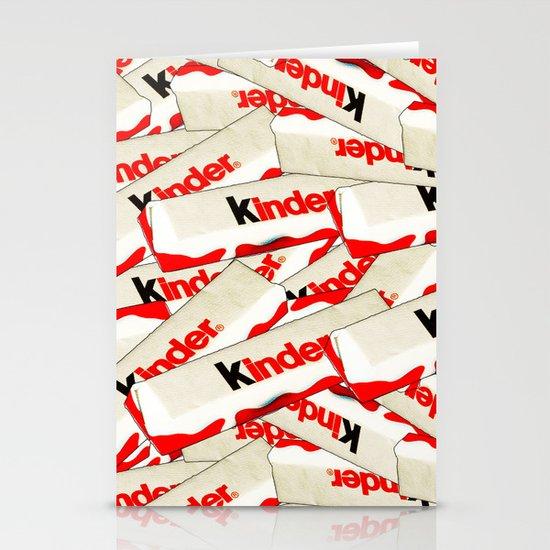 CHOCOLATE BARS Stationery Card