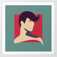 Art Print featuring Pose Babe by LightCircle