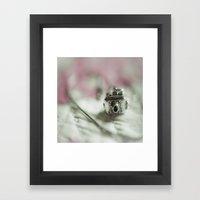 Camera Charm Framed Art Print