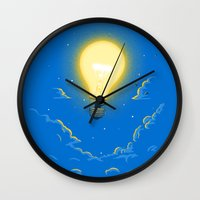 Let the light lead the way Wall Clock