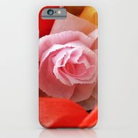 iPhone & iPod Case featuring Paper handmade flowers by Mendelsign