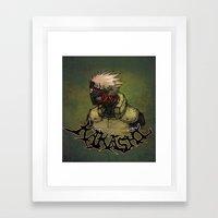 Flesh Eating Sensei?! Framed Art Print