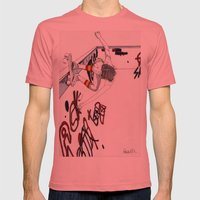 Skater Girl - Part One -… Mens Fitted Tee Pomegranate SMALL