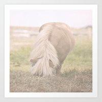 Little Pony Art Print