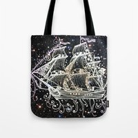 The Great Sky Ship II Tote Bag