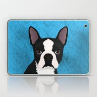 Boston Terrier Laptop & iPad Skin