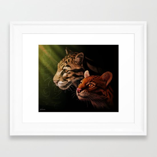 Bestia Framed Art Print