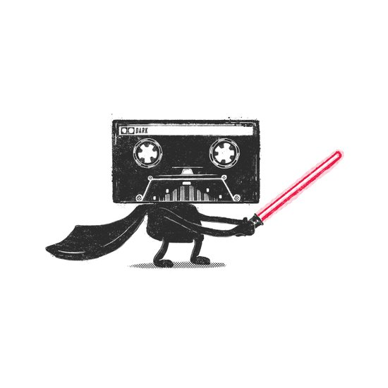 Media Wars: The Cassette Strikes Back Canvas Print