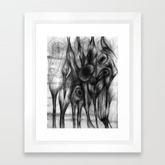 Vortex I Framed Art Print