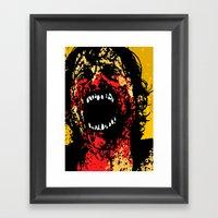 Demons 1 Framed Art Print